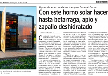 Reportaje Canto del Carrizo LUN