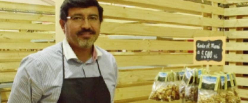 Tomates deshidratados y charqui de San Esteban en la ExpoMundoRural 2017 en la Estación Mapocho